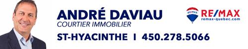 André Daviau RE/MAX St-Hyacinthe