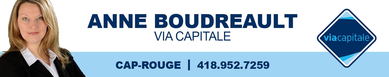 Anne Boudreault courtier immobilier Via Capitale  Élite