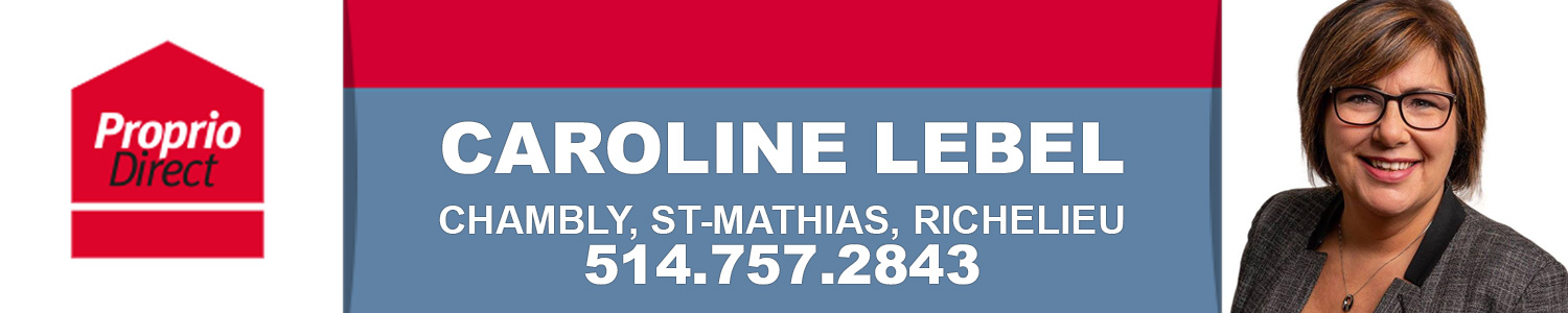Caroline Lebel Courtier Immobilier Proprio Direct