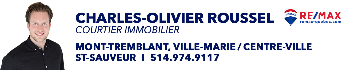 Charles-Olivier Roussel - Courtier Immobilier