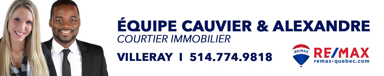 Équipe Cauvier & Alexandre - Remax