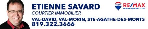 Etienne Savard-Courtier immobilier Remax Laurentides