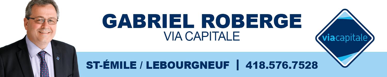 Gabriel Roberge, courtier immobilier agréé Via Capitale Sélect