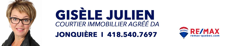 Gisèle Julien Courtier Immobilier Agréé DA Remax Énergie