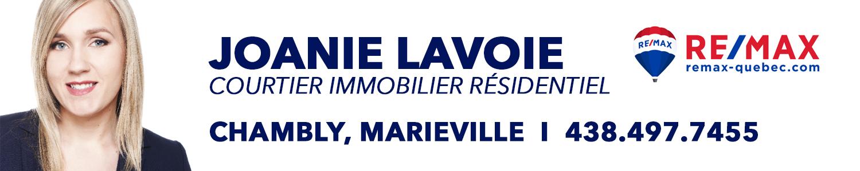 Joanie Lavoie Courtier Immobilier Remax