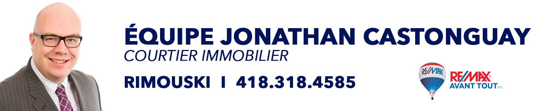 Jonathan Castonguay REMAX Avant Tout