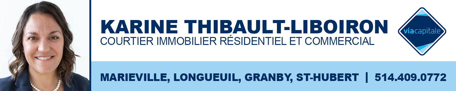 Karine Thibault-Liboiron - Courtier Immobilier Commercial