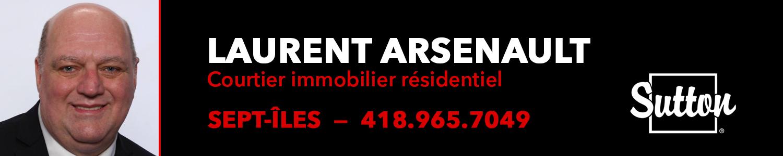Laurent Arsenault Courtier immobilier résidentiel