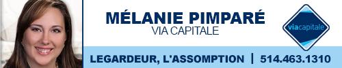 Mélanie Pimparé - courtier immobilier
