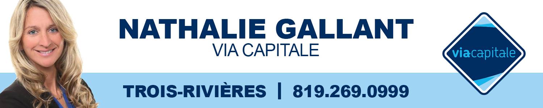 Nathalie Gallant courtier immobilier, Via Capitale