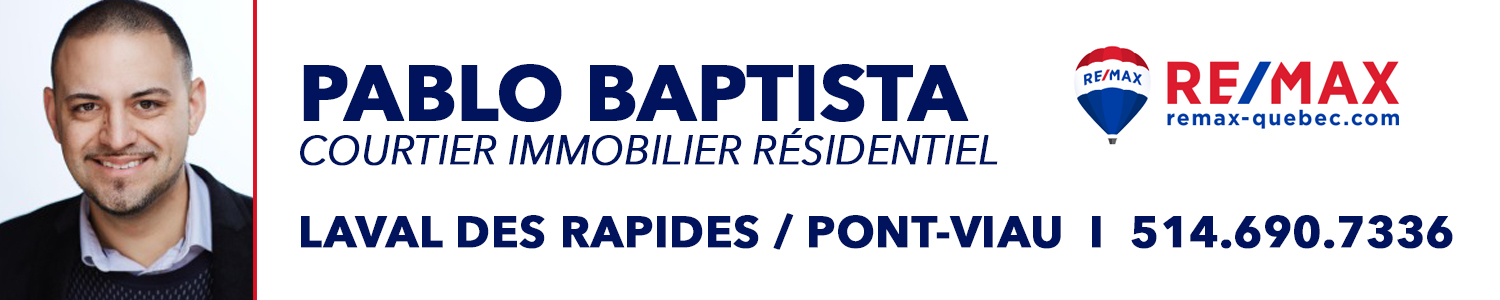 Pablo Baptista Courtier Immobilier RE/MAX 2000
