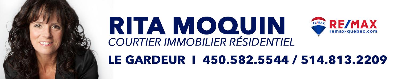 Rita Moquin courtier immobilier Remax