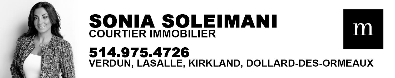 Sonia Soleimani Courtier Immobilier