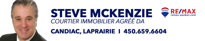 Steve McKenzie - RE/MAX Platine S.McK agréé DA