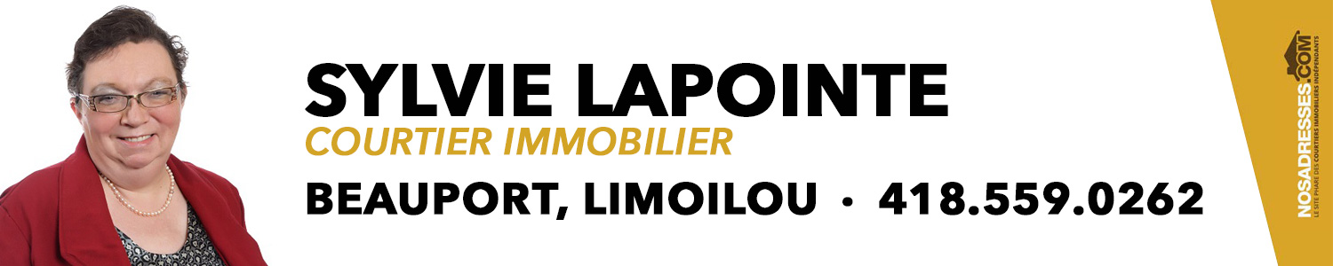 Sylvie Lapointe, courtier immobilier