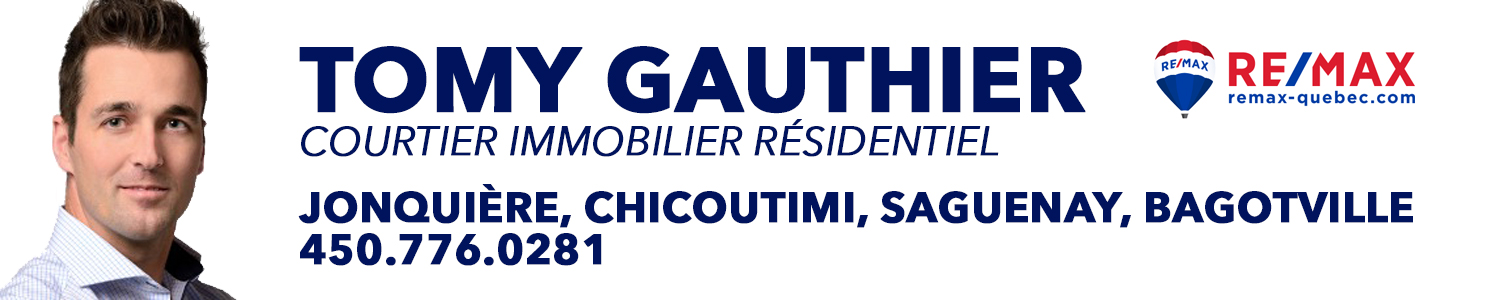 Tomy Gauthier-RE/MAX Énergie