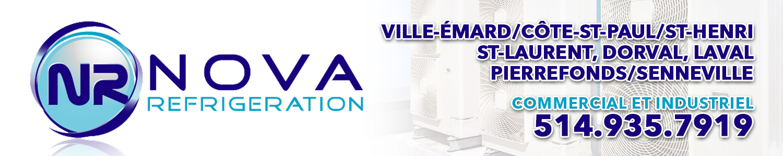 Nova Réfrigération - Climatisation, Chambre Froide , Chauffage, Ventilation Commerciale