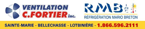 Climatisation ventilation C. Fortier réfrigération commercial