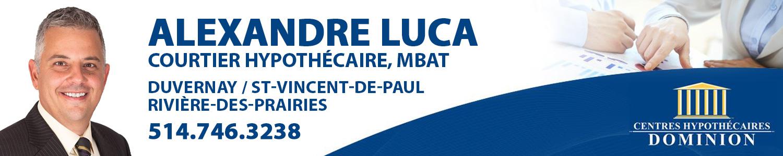 Alexandre Luca Courtier Hypothécaire