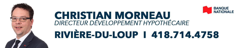 Christian Morneau, Directeur développement hypothécaire