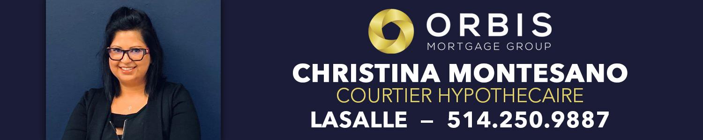 Christina Montesano Courtier Hypothecaire - Groupe Orbis