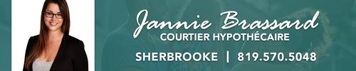 Jannie Brassard - Courtier Hypothécaire - Sherbrooke - Dominion
