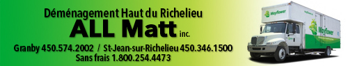 Déménagement Haut du Richelieu All Matt Inc.