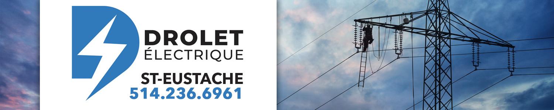 Drolet Électrique - Electricien Résidentiel Saint-Eustache