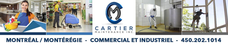 Cartier Maintenance Inc.- Entretien Ménager commercial et industriel