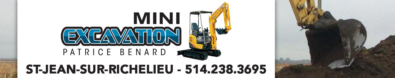 Mini-excavation Patrice Bénard Inc.