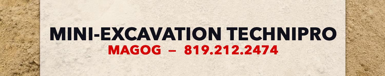 Mini-Excavation Technipro Inc. - Excavation Magog