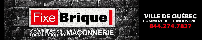 FixeBrique Inc. - Maçonnerie Ville de Québec