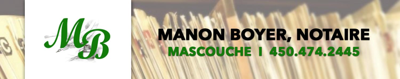 Manon Boyer notaire