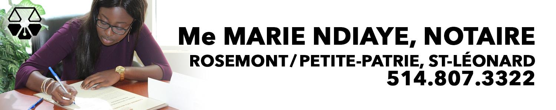 Me Marie Ndiaye, notaire